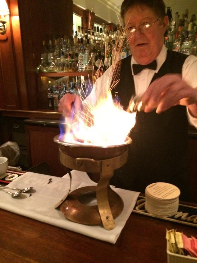 cafe brulot fire